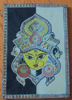 DURGA - Painting by Prathima Raparti in Prathimas art at touchtalent 73009
