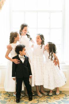 These little cuties: http://www.stylemepretty.com/2015/09/01/glam-taj-hotel-boston-wedding/   Photography: Rebecca Arthurs - http://rebeccaarthurs.com/