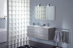 55 images délicieuses de Brique de Verre | Bathroom, Brick bathroom ...