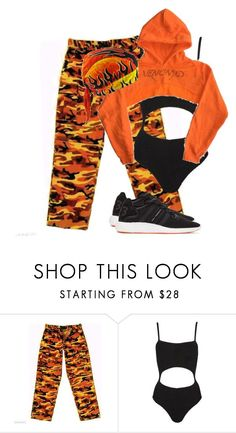 """""""Untitled #2163"""" by givenchey ❤ liked on Polyvore featuring Hunza G and Y-3"""