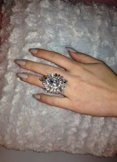 Engagement Rings, Jewelry, Fashion, Statement Rings, Spinning Top, Stone, Crystals, Schmuck, Enagement Rings