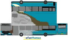 Image result for paper buses uk