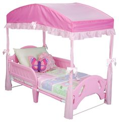 Delta Girls Toddler Bed Canopy