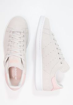 bb8df318765 Adidas Women Shoes - Adidas Originals STAN SMITH - Sneaker low - pearl  grey/white/vapour pink - We reveal the news in sneakers for spring summer  2017