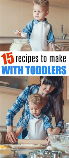 These 15 Amazing Recipes for Toddlers will help you bond with your kids while cooking. Cooking with toddlers is fun and educational. with kids toddlers 15 Amazing Recipes for Toddlers Baking With Toddlers, Cooking With Kids Easy, Kids Cooking Recipes, Easy Meals For Kids, Fun Cooking, Baby Food Recipes, Kids Meals, Toddler Recipes, Recipes For Toddlers