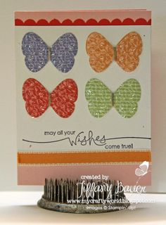 My Crafty World: Butterflies Everywhere