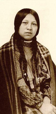 White Feather - Nez Perce - circa 1900