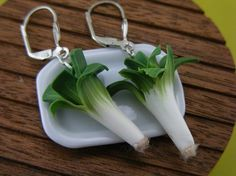 Leeks | Adorable Food Earrings