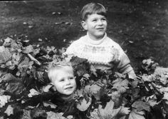 Prince Edward and Prince Andrew In 1966.