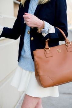 A well-fitted blazer is perfect for a preppy outfit!