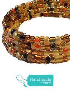Amber Brown Gold and Orange Bracelet Autum Fall Jewelry from DTailsULike by Jennifer DV https://www.amazon.com/dp/B016BB8TQI/ref=hnd_sw_r_pi_dp_eqihybJ6ZM284 #handmadeatamazon