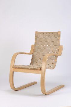 Alvar Aalto Lounge Chair 406
