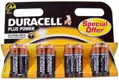 8-Pack Duracell Plus Power Batterijen (AA LR5 MN1500)