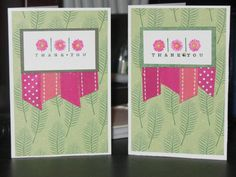 Getting Low on Thank you's by Freshn'Sassy - Cards and Paper Crafts at Splitcoaststampers
