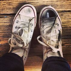 We like it dirty. #converse #chucktaylor