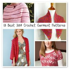 best #crochet garment patterns of 2014 so far