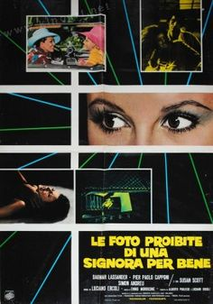"""""""Forbidden Photos of a Lady Above Suspicion"""" - great film, great poster."""