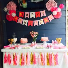 Pink and Gold Party for Two Girls!