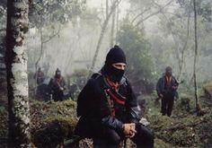 Sub-comandante Marcos. EZLN.  Chiapas, Mexico