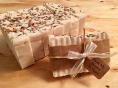 LAVENDER SHOWER FAVORS Natural Rustic Country Elegant Baby Bridal Shower - From My Shower to Yours - Guest Gift Soap, Custom Wrap, Ribbon $1.00