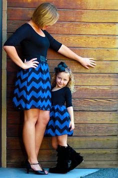 Mommy and me matching dresses from Be Inspired Boutique