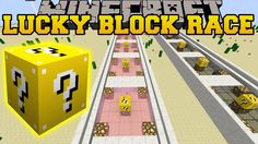 [Popularmmos - Minecraft ] DEADLIEST LUCKY BLOCK RACE(Pat and jen lucky ...
