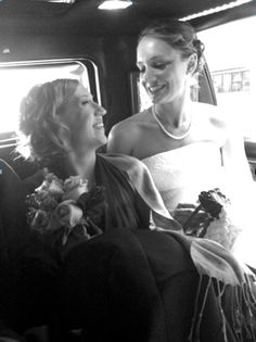 Wedding Snap's Photo of the Month: Caroline & Justin! Such a great candid moment! www.WeddingSnap.com