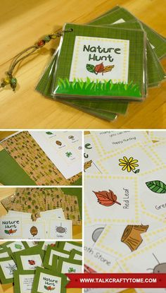 Enjoy the great outdoors this summer with this fun DIY nature hunt from www.talkcraftytome.com.