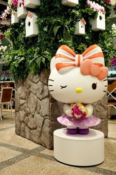 World's first 24-hour Hello Kitty cafe opens at Singapore Changi Airport