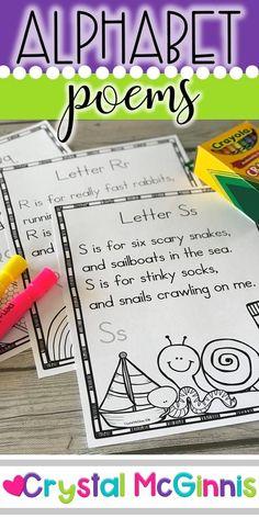 Alphabet Poems for Shared Reading