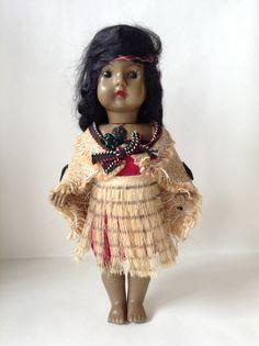 Vintage Maori Doll from NZ