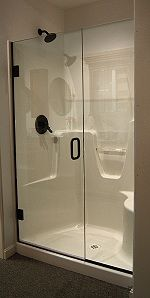 Dimensions For Bath With Doorless Shower 3x5 Minimum But