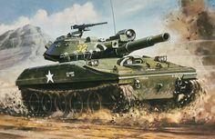 US Sheridan Airborne Tank Military Weapons, Military Art, Sheridan Tank, Airfix Models, Cross Art, Armored Fighting Vehicle, Battle Tank, Armored Vehicles