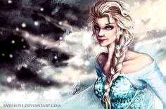 Elsa fan art :)