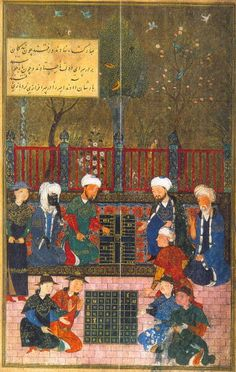 #Backgammon, always popular (in Persia?)