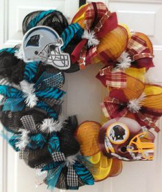 Panthers/Redskins--house divided!