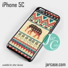 Aztec Elephant (5) Phone case for iPhone 5C and other iPhone devices