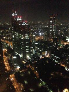 東京都庁 南展望室 ve městě 新宿区, 東京都