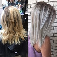 COLOR CONVERSION: Warm and Golden To Bright and Brass-free - Hair Color - Modern Salon