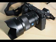 Sony A6500 BEST Portrait Lens - YouTube