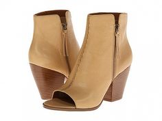 Nine west herhart light natural leather Natural Leather, Nine West, Peeps, Peep Toe, Wedges, Shoes, Heart, Fashion, Style