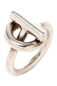Vintage Hermes Metal Spi Ring
