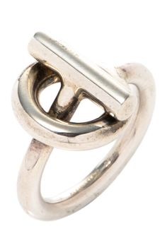 e6118812f387 Vintage Hermes Metal Spi Ring. Charlotte Wannebroucq · HERMÈS VINTAGE BIJOUX