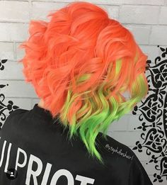 """6,162 Likes, 38 Comments - Pulp Riot Hair Color (@pulpriothair) on Instagram: """"@stephdoeshair1 is the artist... Pulp Riot is the lightener and the paint."""""""