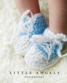 baby sneakers - free pattern