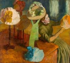 The Millinery Shop Edgar Degas