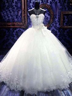 Fantastic Amazing Ball Gown Sweetheart Neckline by SpcialDresses, $349.99