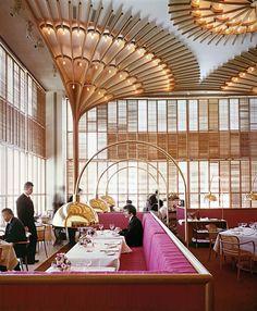 American restaurant in Kansas City by Warren Platner | Best Interior Design, Top Interior Designers, Home Decor Ideas, Decor Tips, Contemporary design. For More News: http://www.bocadolobo.com/en/news/