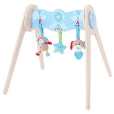 Bigjigs Toys Bruno Baby Gym with Soft Plush Toys Wooden Toy Shop, Wooden Toys, Wooden Educational Toys, Toys Online, Learning Toys, Toys Shop, Toddler Gifts, New Baby Gifts, Baby Toys