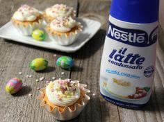 Cupcake con frosting al mascarpone e latte condensato